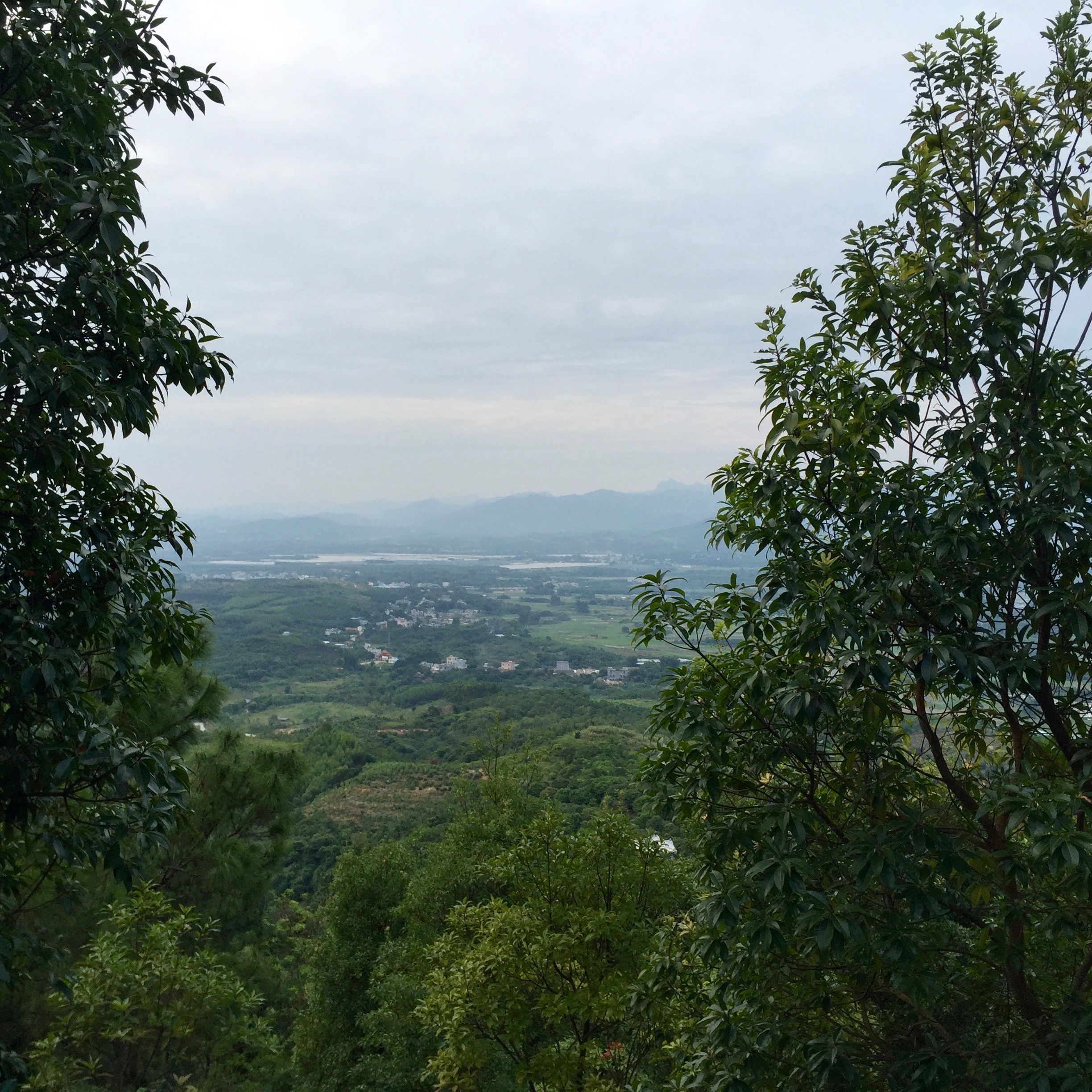 Looking out over Huidong.