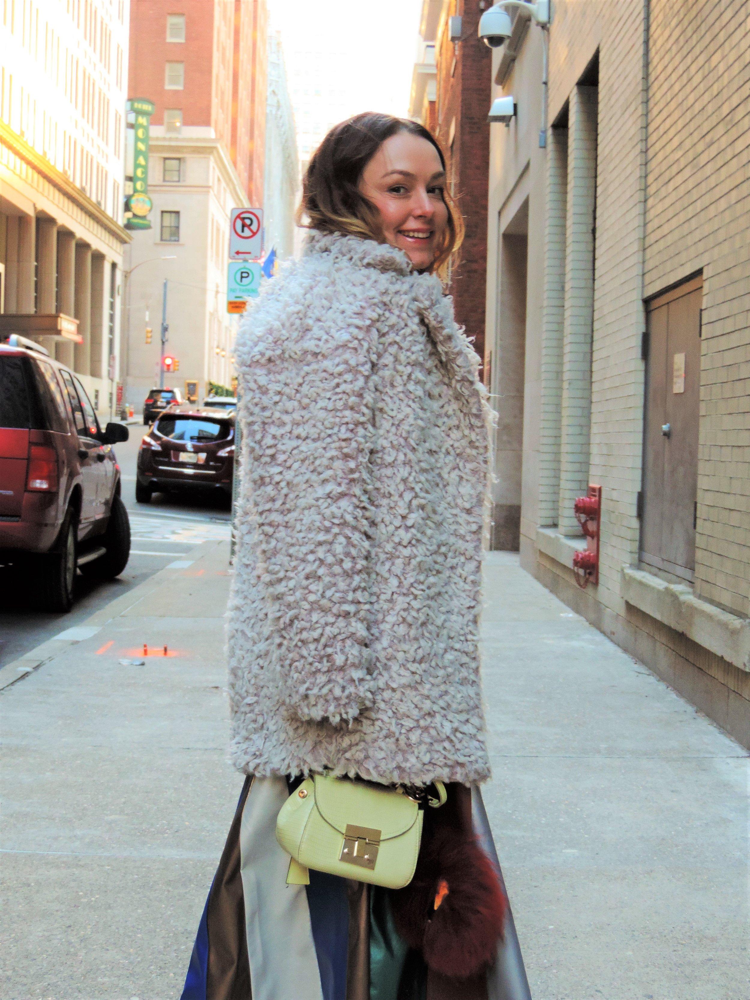 fur coat outfit ideas