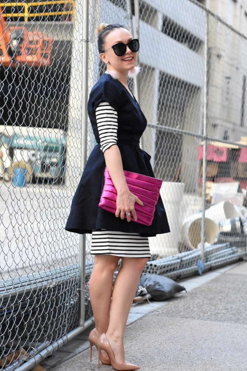 How to style a bodycon dress for work