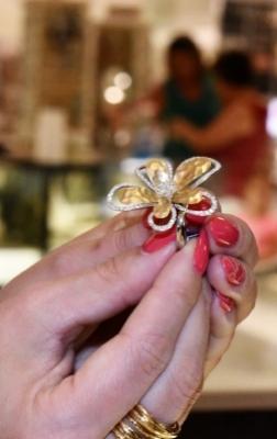 Effy Jewelry Flower Ring