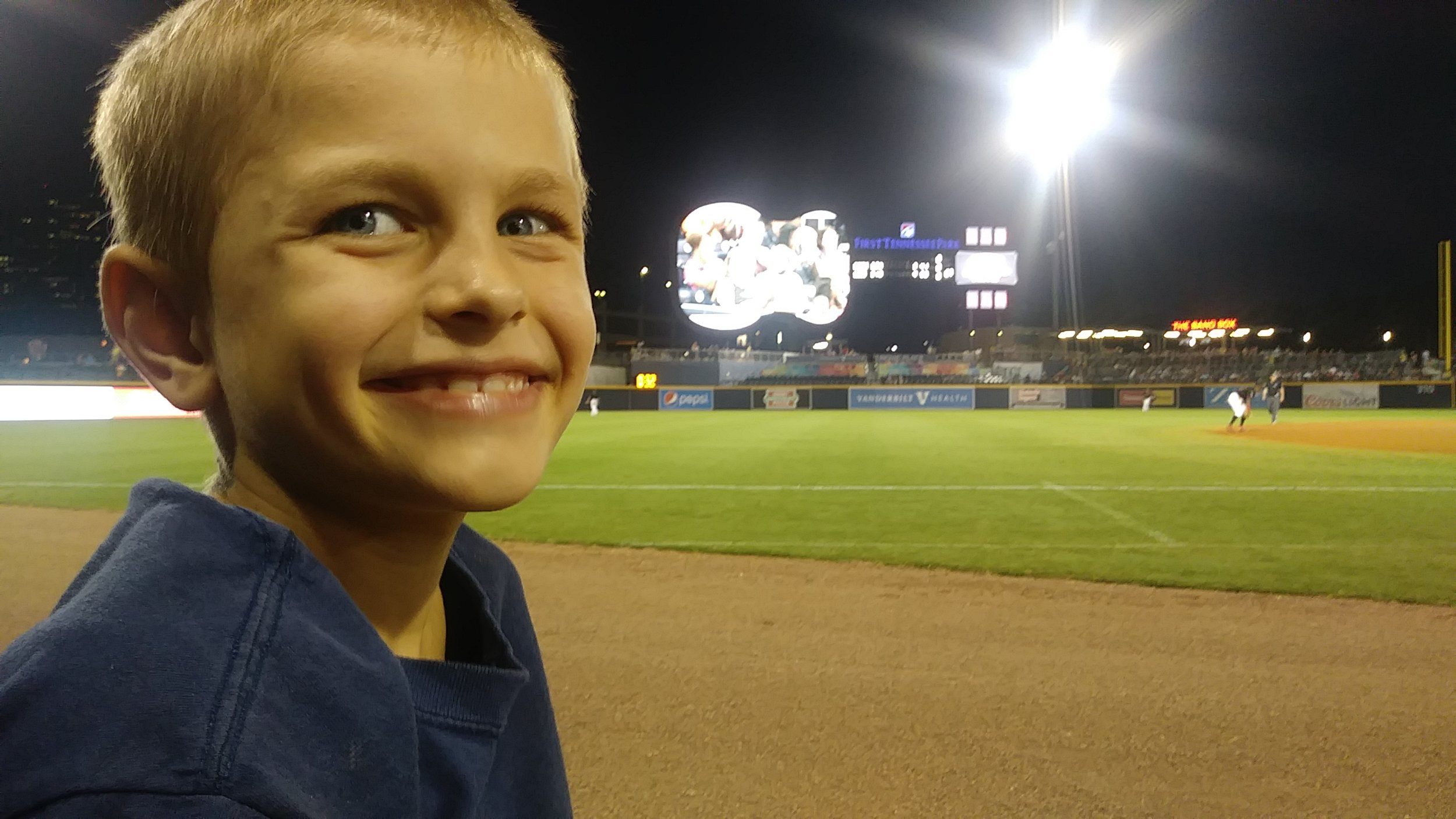 Boys at Sounds Game