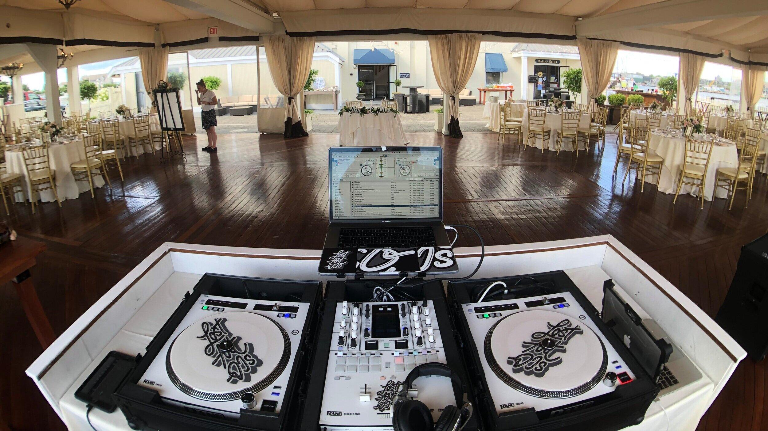LOST ART DJ'S @ REGATTA PLACE // NEWPORT, RHODE ISLAND