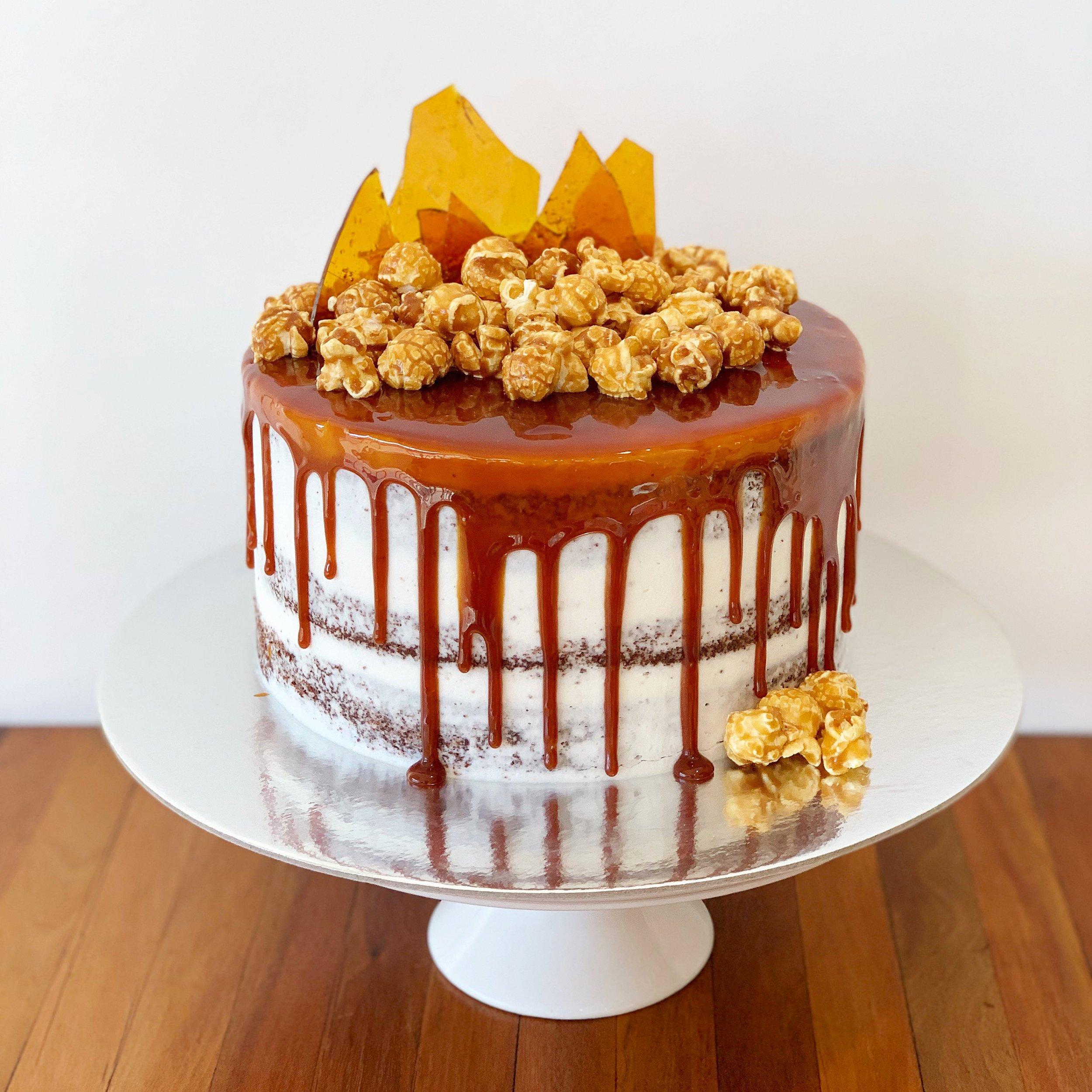 salted caramel cake delivery Brisbane