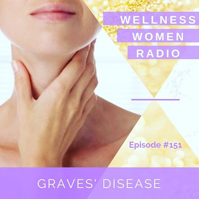::New Episode:: [Ep #151 Graves' Disease] 🎧LISTEN NOW🎧 #linkinbio . The thyroid gland is a pretty complicated little part of our endocrine system and certainly works according to the 'goldilocks' principle, we don't want an overactive or underactive thyroid!🙅🏻♀️🙅🏼♀️....We very commonly see a lot of patients with an UNDERactive thyroid, or HYPOthyroidism, but OVERactive thyroid function can wreck just as much havoc on the system!  HYPERthyroidism can cause an array of symptoms such as anxiety, diarrhea, weight loss, hair loss, heat intolerance, excessive sweating and the list goes on.....😩Graves' disease is the most common cause of autoimmune hyperthyroidism and in this episode of #WellnessWomenRadio @drashleighbond and @drandrea.xo dig into all the signs and symptoms of Graves' disease, the potential causes and holistic solutions to consider for healing. 🙌🏼✨🌱 . Tune in now to find out more 💜💜
