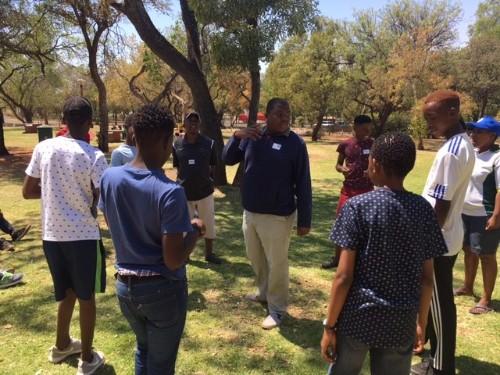 iawa ambassadors at special olympics south africa camp