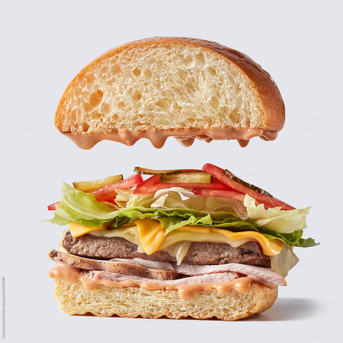 Client : Holy burger  restaurant (Kiev) /  Production & post-production : Danylchenko studio /  Foodstyle : Alexandra Gordeeva