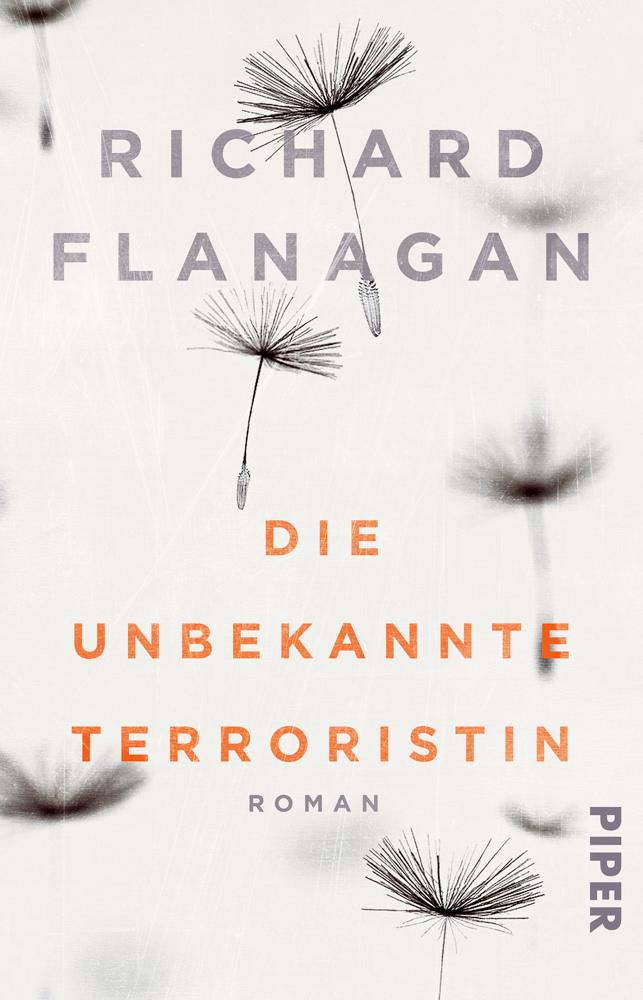 BOOK COVER - Die unbekannte Terroristin: Romanby Richard Flana