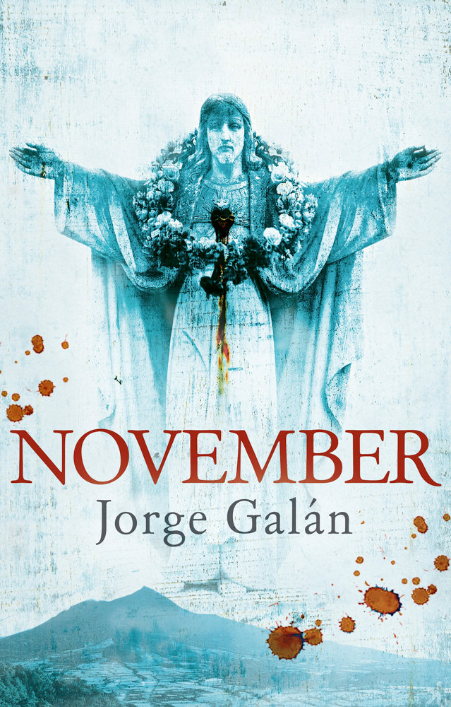 BOOK COVER - November by Jorge Galán