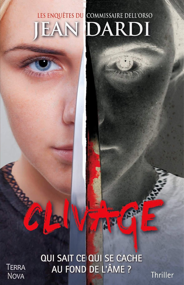 BOOK COVER - Clivage by Jean Dardi