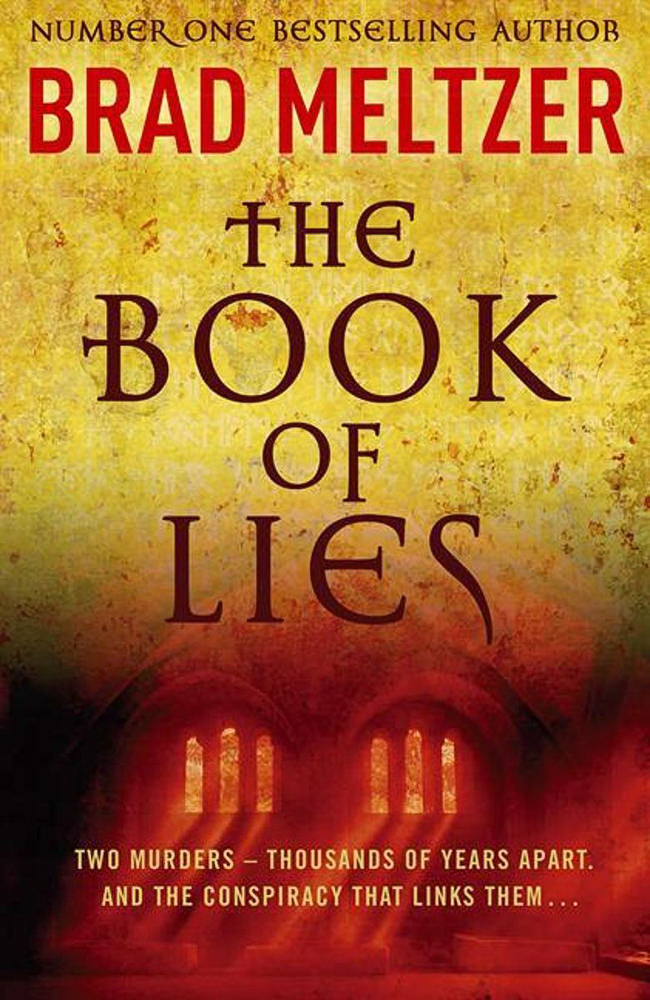 BOOK COVER - The Book of Lies by Brad Meltzer