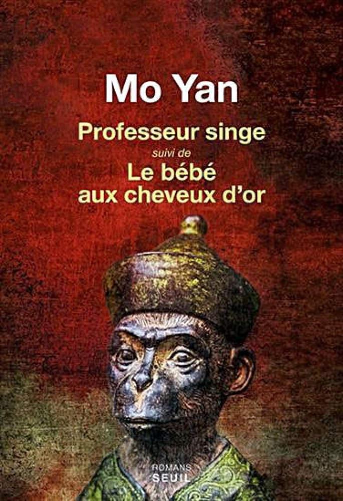 BOOK COVER -Professeur singe suivi de Le Bébé aux cheveux d'o