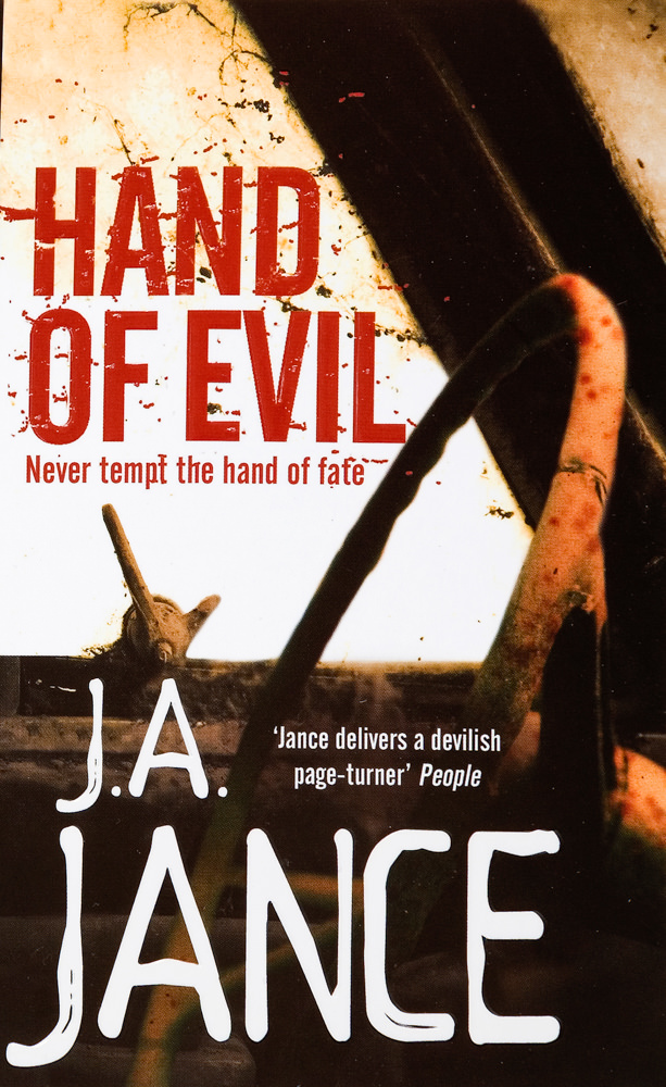 BOOK COVER - Hand of Evil by J A Jance