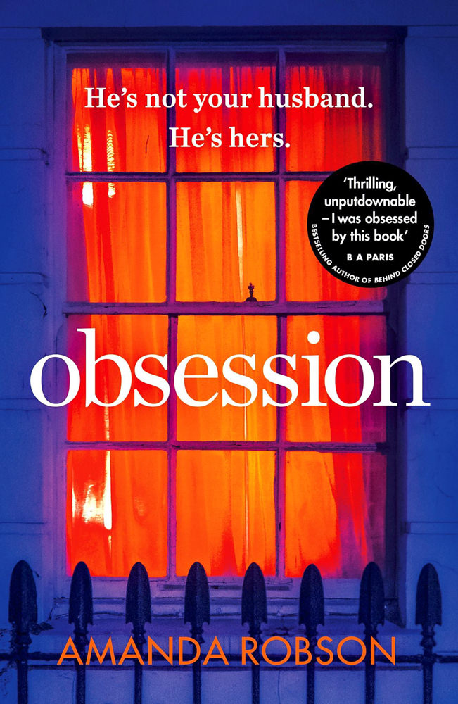 BOOK COVER - Obsession by Amanda Robson