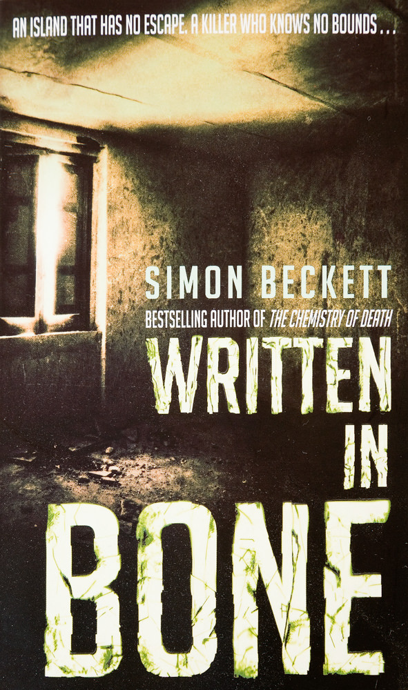 BOOK COVER - Written in Bone by Simon Beckett
