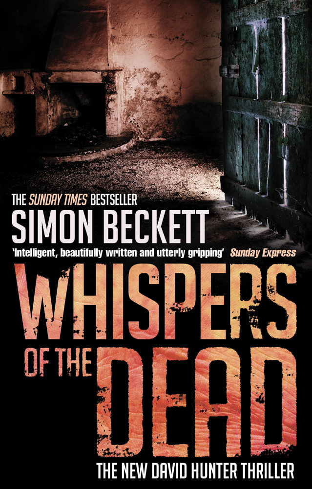 BOOK COVER - Whispers of the Dead by Simon Beckett