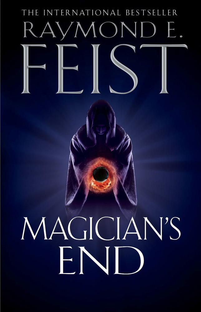 BOOK COVER -  Magician's End by Raymond E. Feist