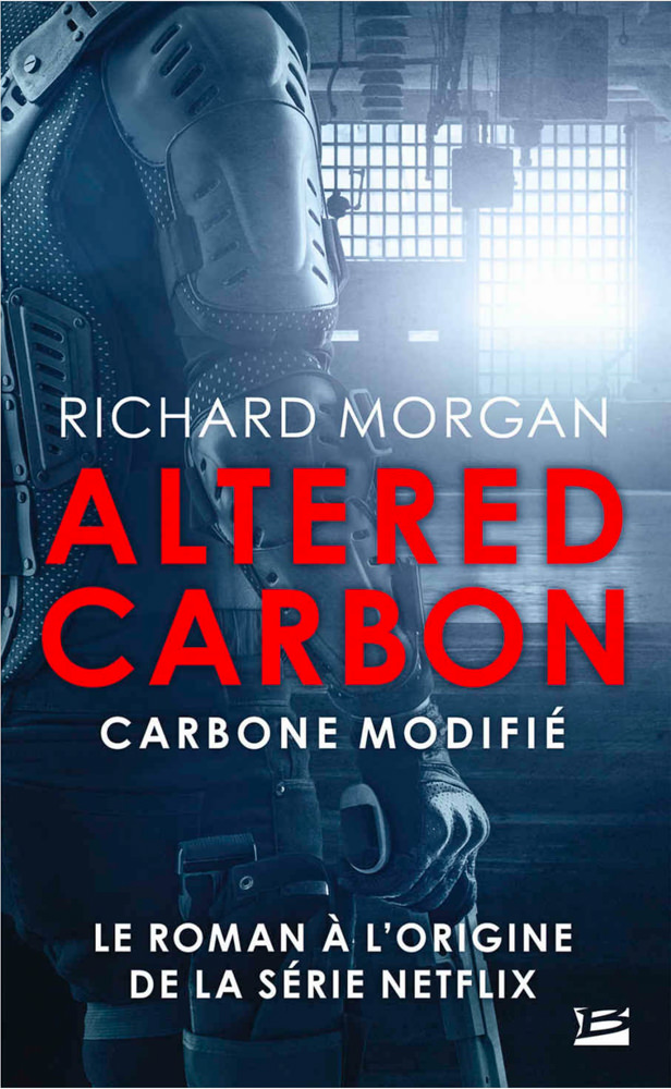 BOOK COVER -  Altered Carbon by Richard K. Morgan