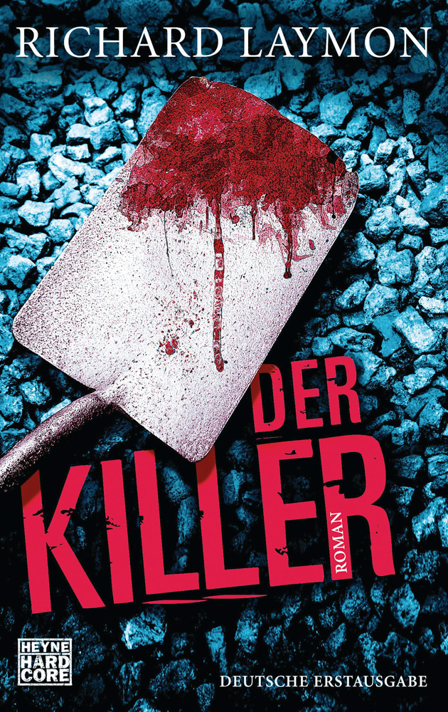 BOOK COVER - Der Killer by Richard Laymon