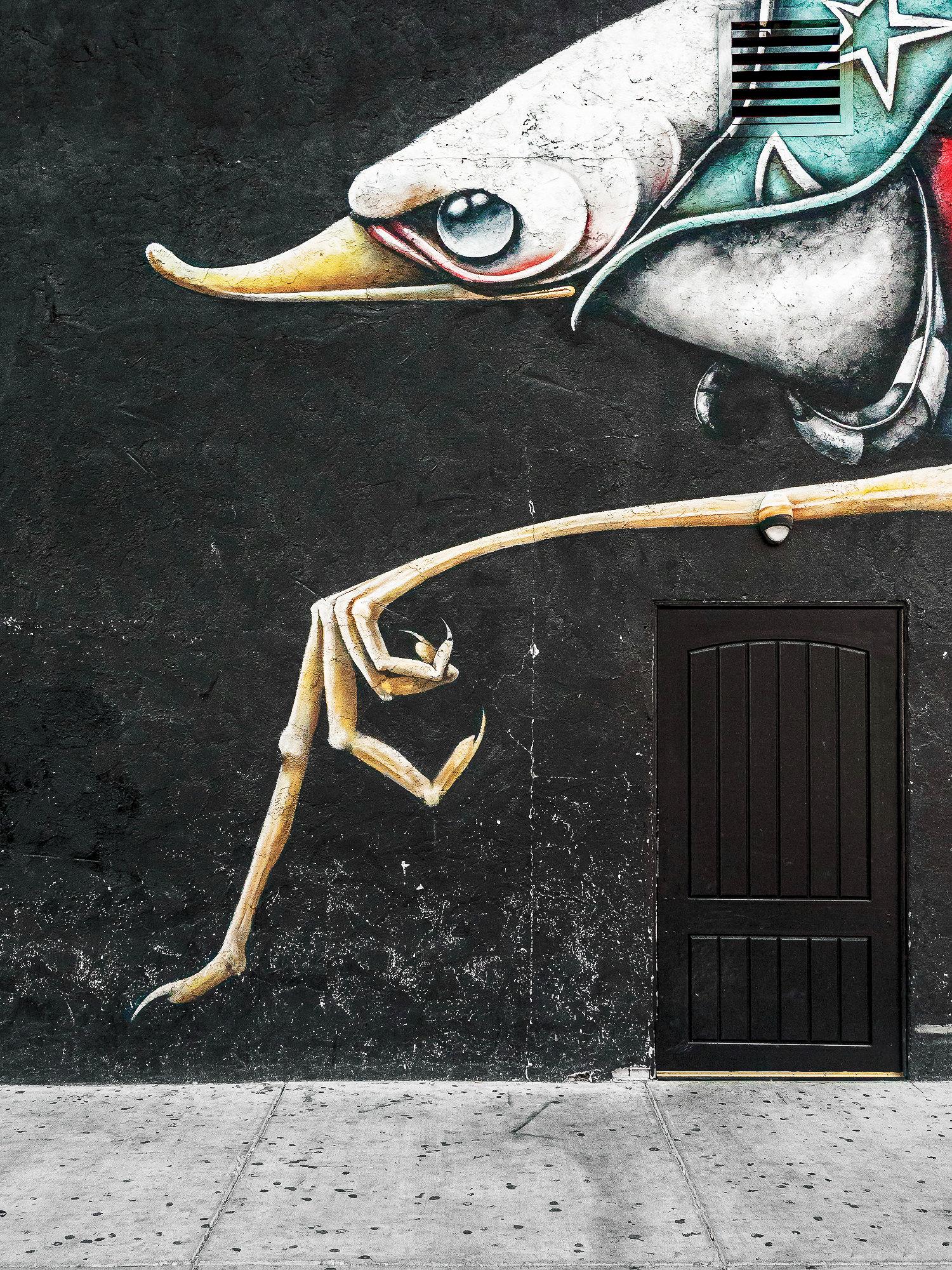 graffiti street art - San Fransisco
