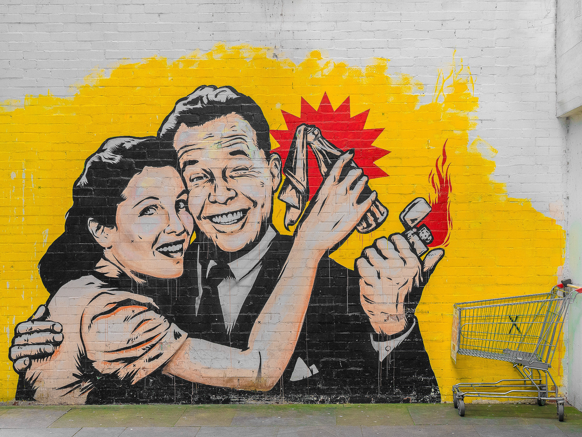 graffiti street art - Birmingham - Digbeth