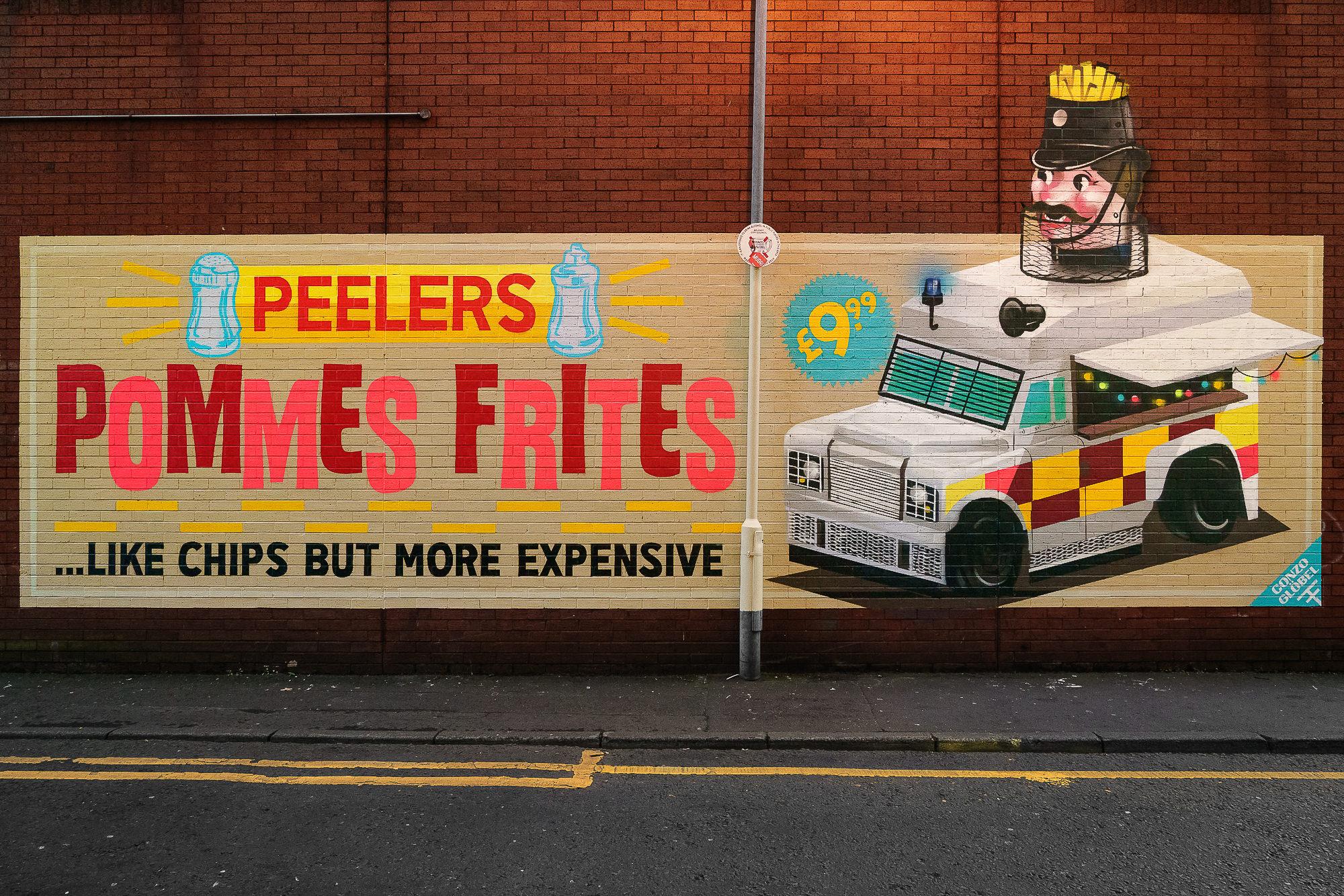 graffiti street art - Belfast Northern Island