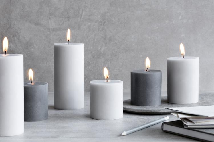 Broste pillar candles arriving November 2nd