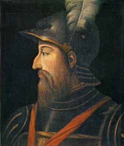 Portrait of Fernando Francesco d'Avalos, Marquis of Pescara (painter unknown)