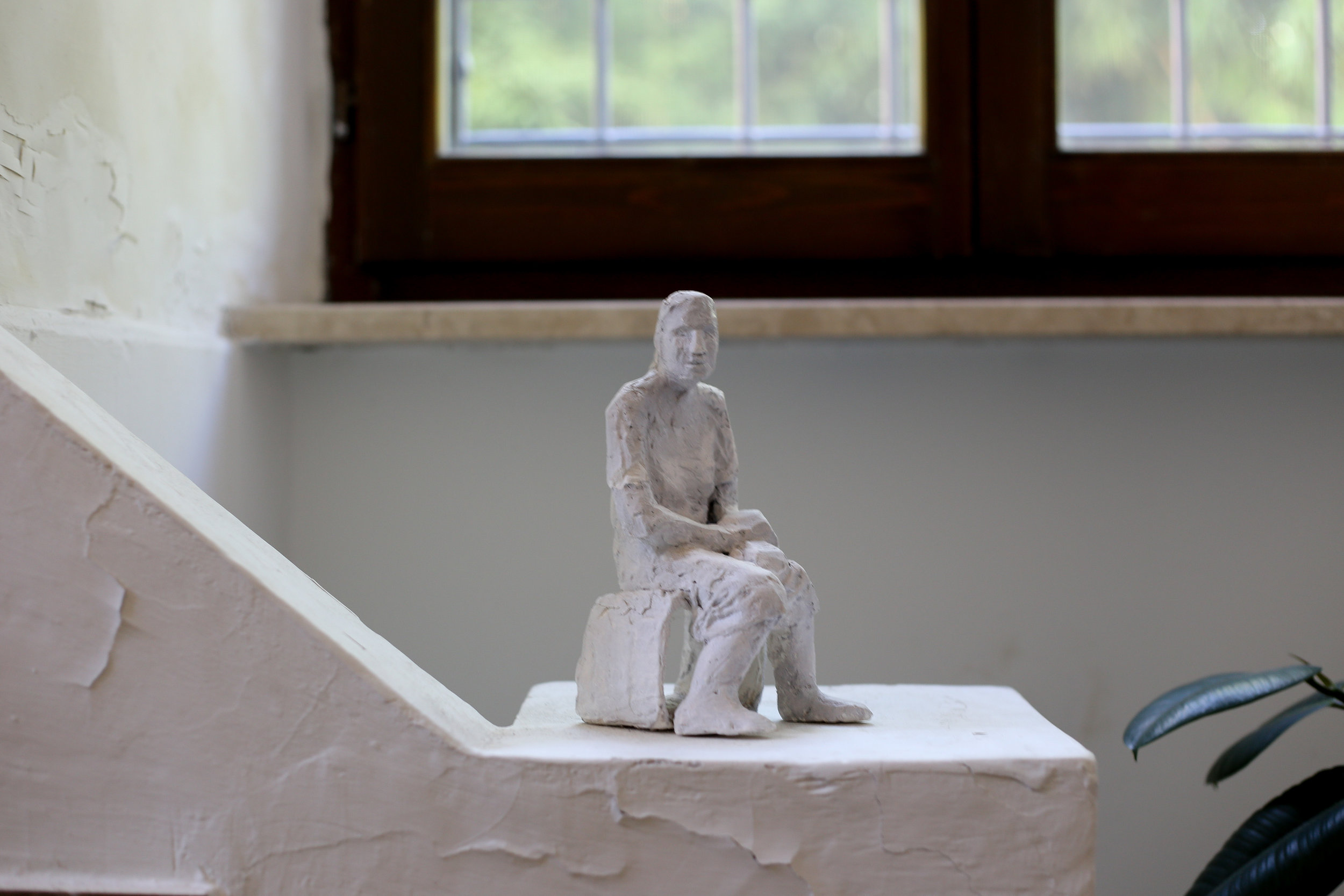 7 Scavo convent stair statue.jpg