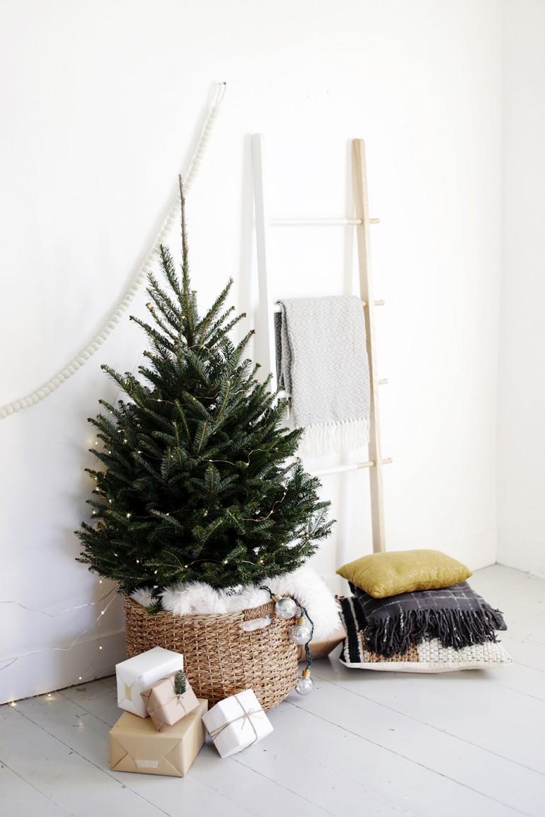 Source:http://themerrythought.com/diy/simple-christmas-tree-display/