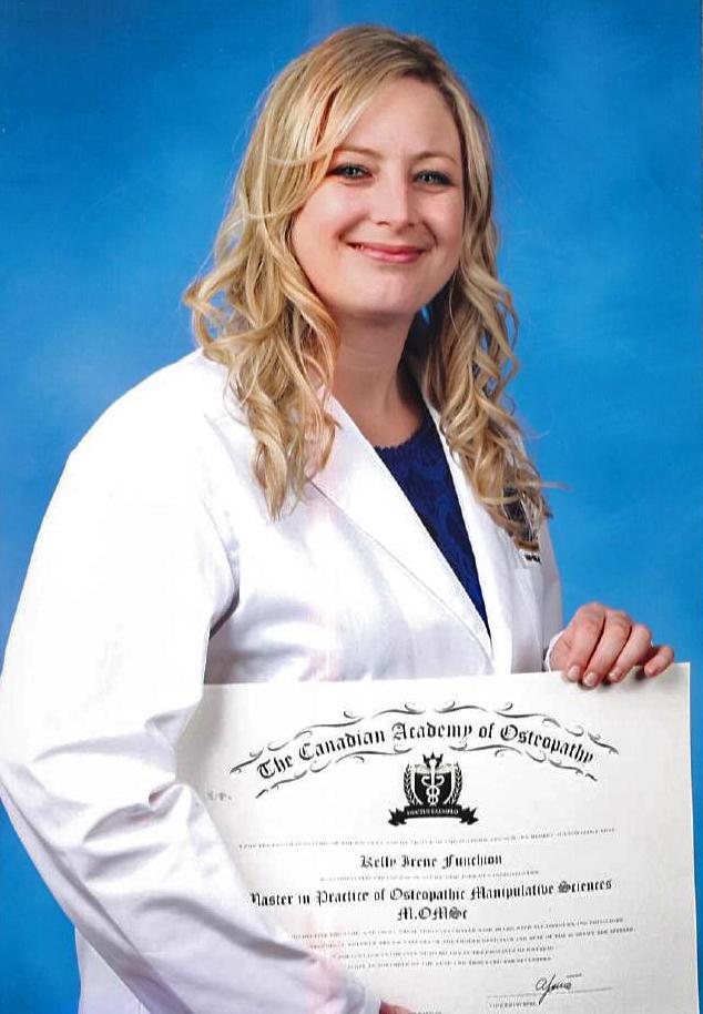 Kelly Funchion - Osteopath