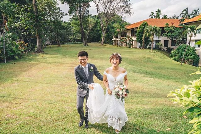 Good times with these two before their villa wedding at Sofitel Sentosa! Definitely one of our favorite places to shoot at in Singapore with lots of wide open spots for portrait and bridal party shoots! . . . . . #bridestory #weddingscoop #sgbrides #sgweddingphotographer #shesaidyes #ido #weddingphotography #weddingphotographer #weddinginspiration #weddinggoals #theknot #buzzfeedweddings #weddingstylist #gettingmarried  #bridalideas #bridalcouture #bridegoals #letswed #yestothedress #dirtybootsandmessyhair #weddingscoop #destinationwedding #weddinginspiration #theweddinglegends #intimatewedding #destinationphotographer #destinationbride #junebugweddings #wedfolks #sonysingapore