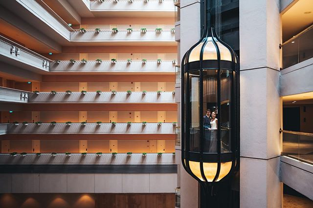Definitely one of the sweetest elevator shots we've ever done! So many good vibes during Julie and Simon's wonderful wedding at @regentsingapore, replete with a fun gatecrashing, heartfelt emotions, and an amazing couple to top it all off! Senior Associate 📸: @juanchan