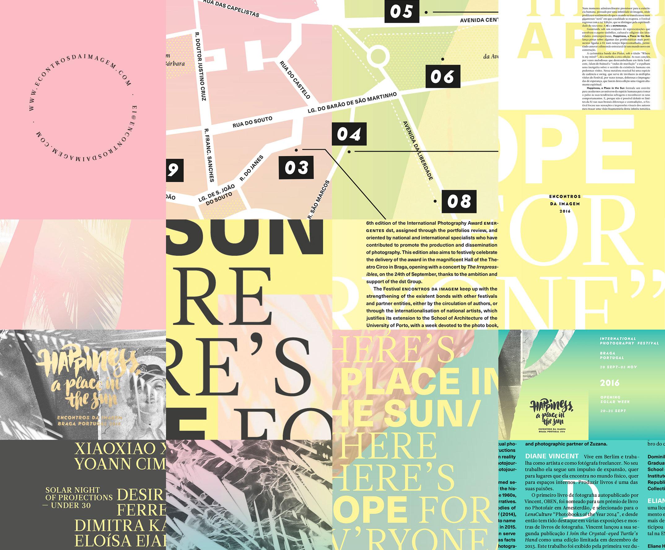 Encontros da Imagem 2016 — event identity by Gen Design Studio
