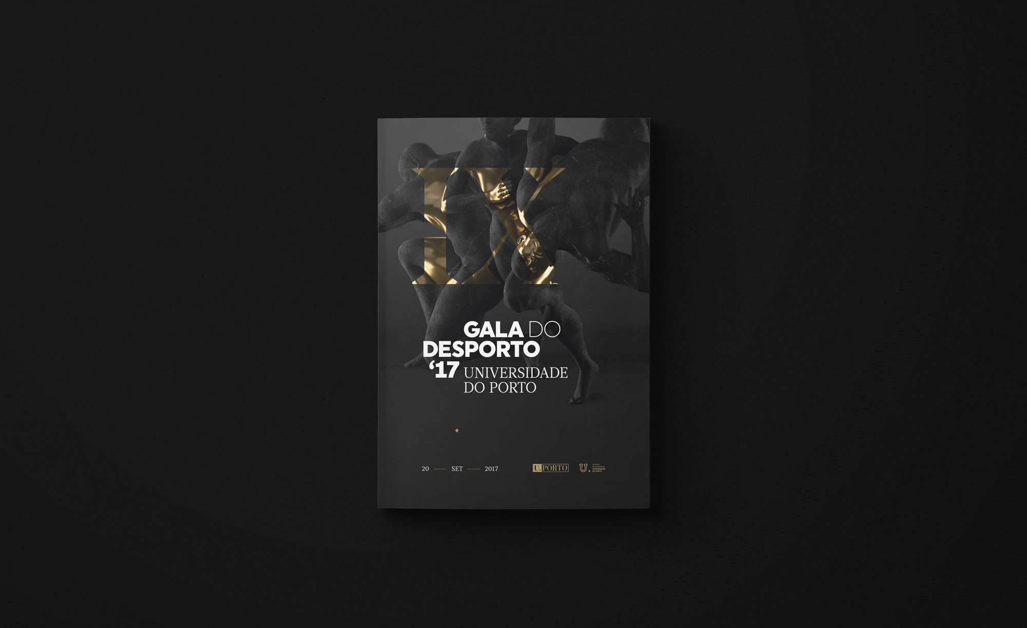 Gala do Desporto U.Porto 2017 — event identity by Gen Design Studio