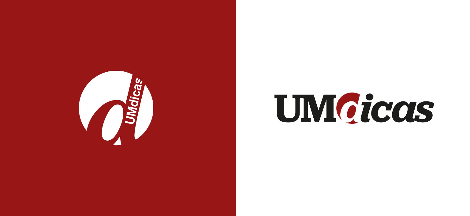 UMdicas, logo redesign by Gen design studio