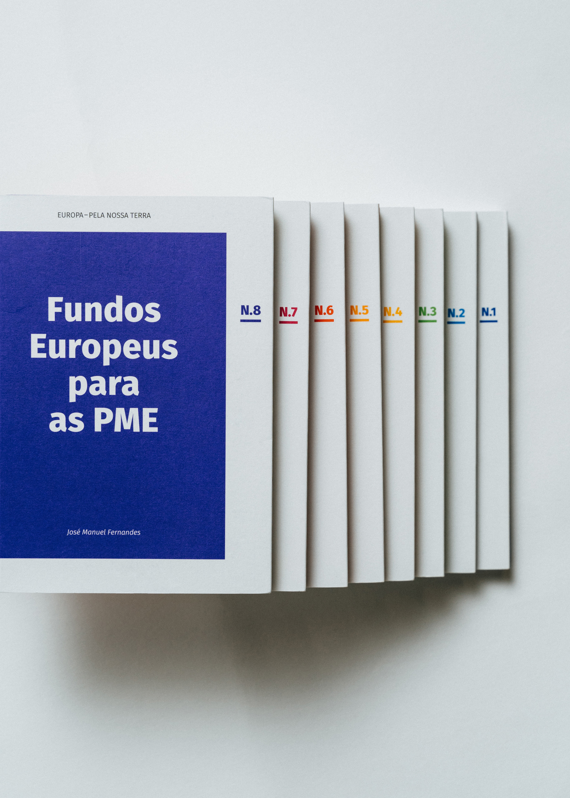 """Europa—Pela Nossa Terra"" book collection by Gen Design Studio"