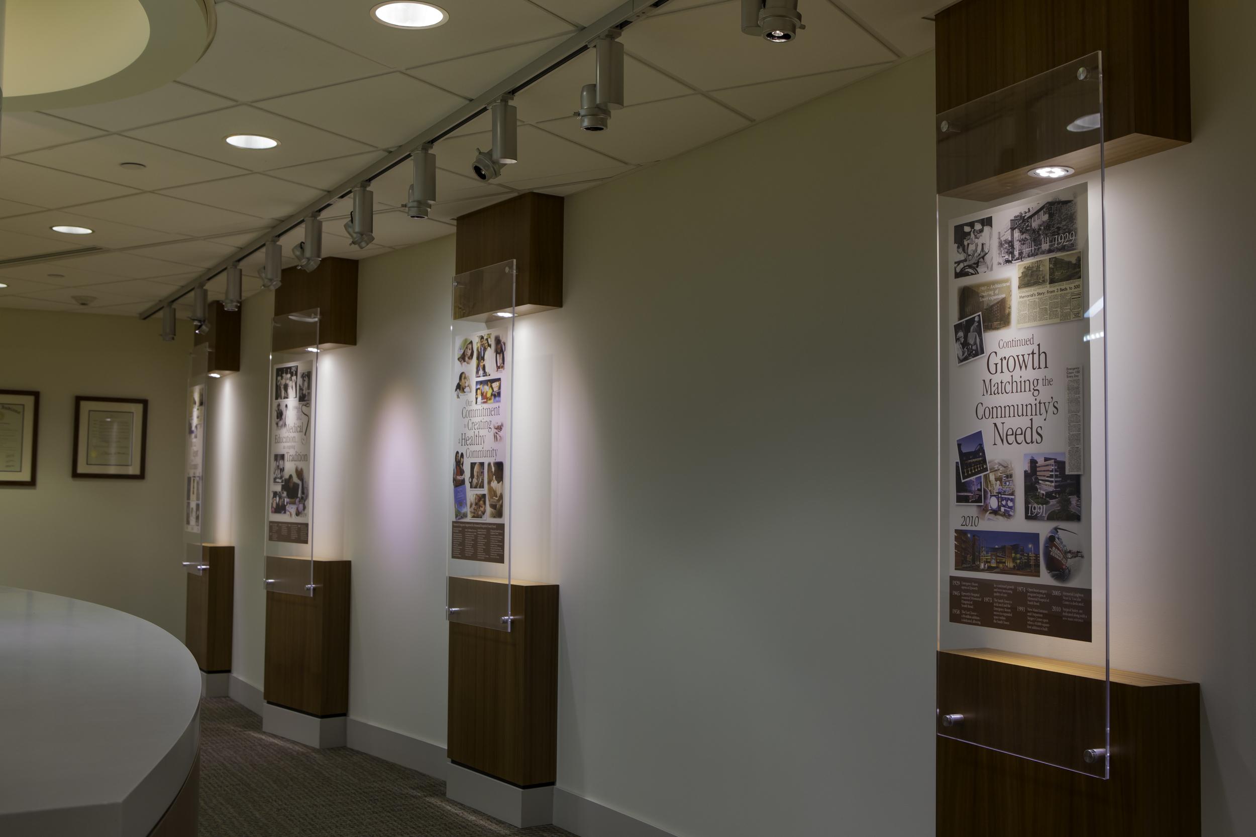 Corporate Display Area