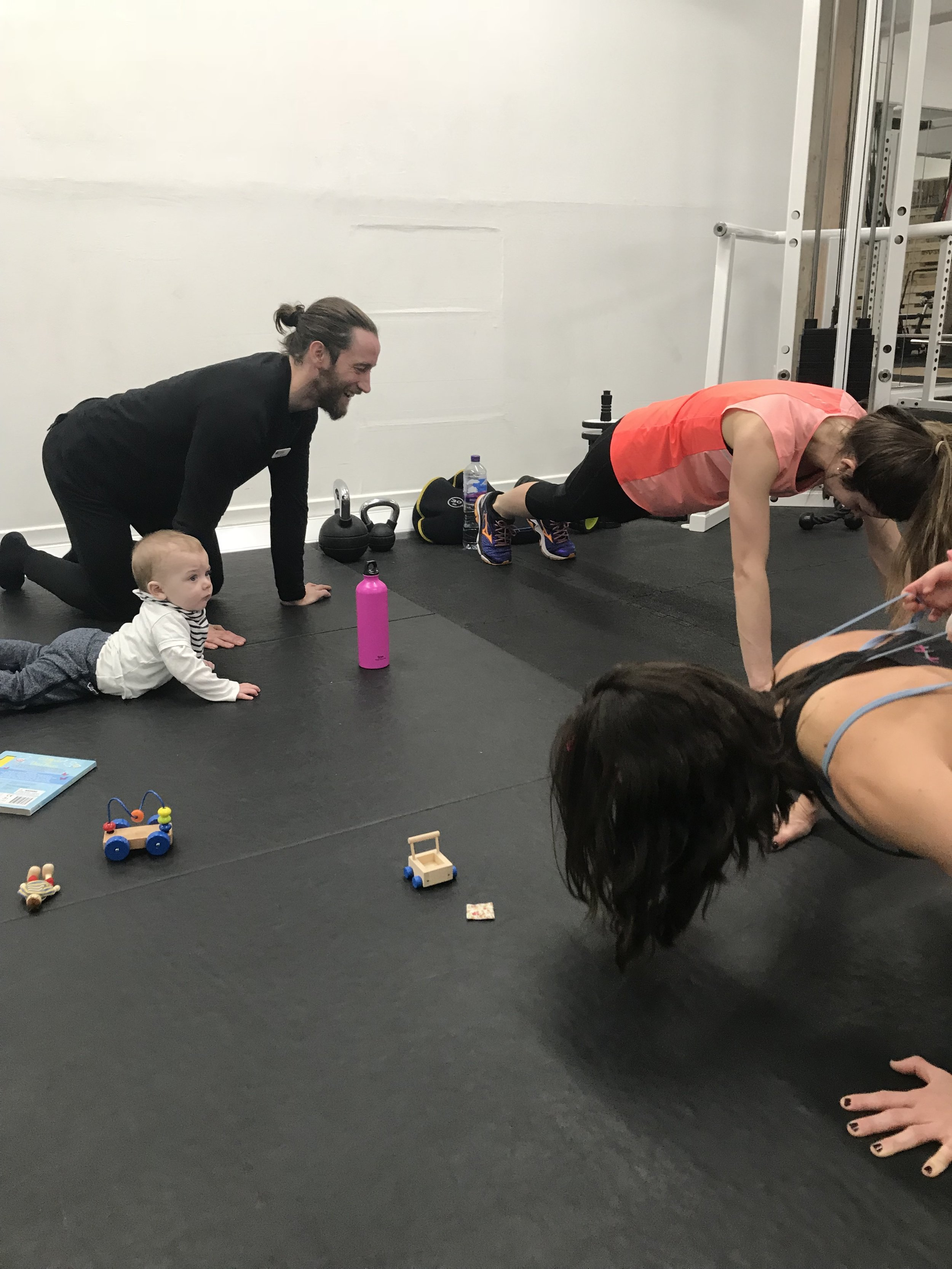 Stanza Mums - We're so PROUD of our small group training class for mothers and little ones! All babies and toddlers all welcome!We're passionate about enabling everyone to train. The class is in a controlled space where we can interact with children whilst still getting a good workout in. Focusing on increasing strength and improving body composition post pregnancy.
