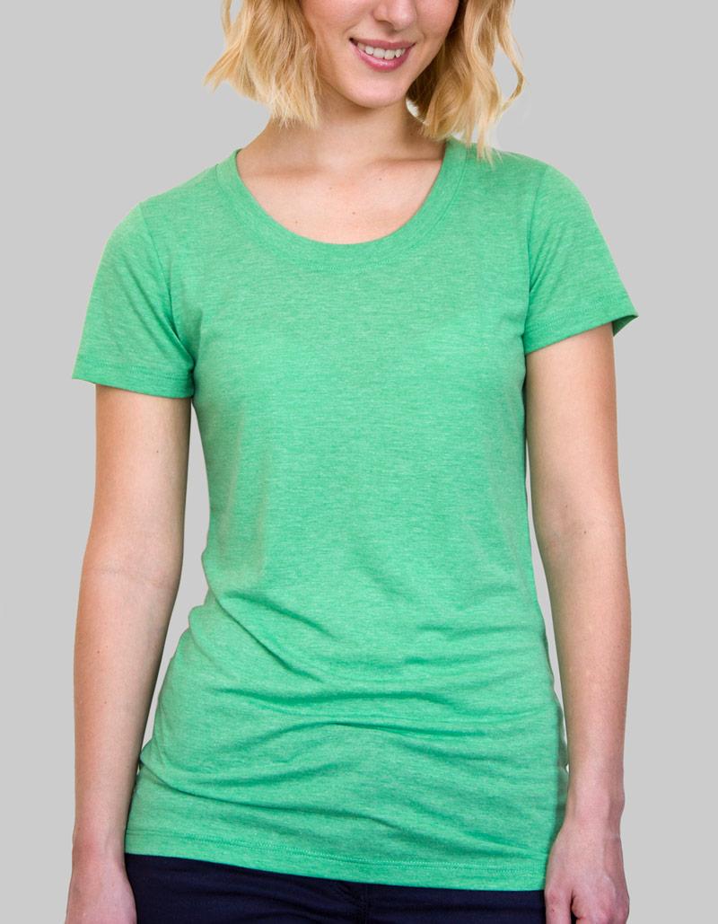 Ladies Tri-Blend T-Shirt   Ladies / 135gsm / 7 Colours