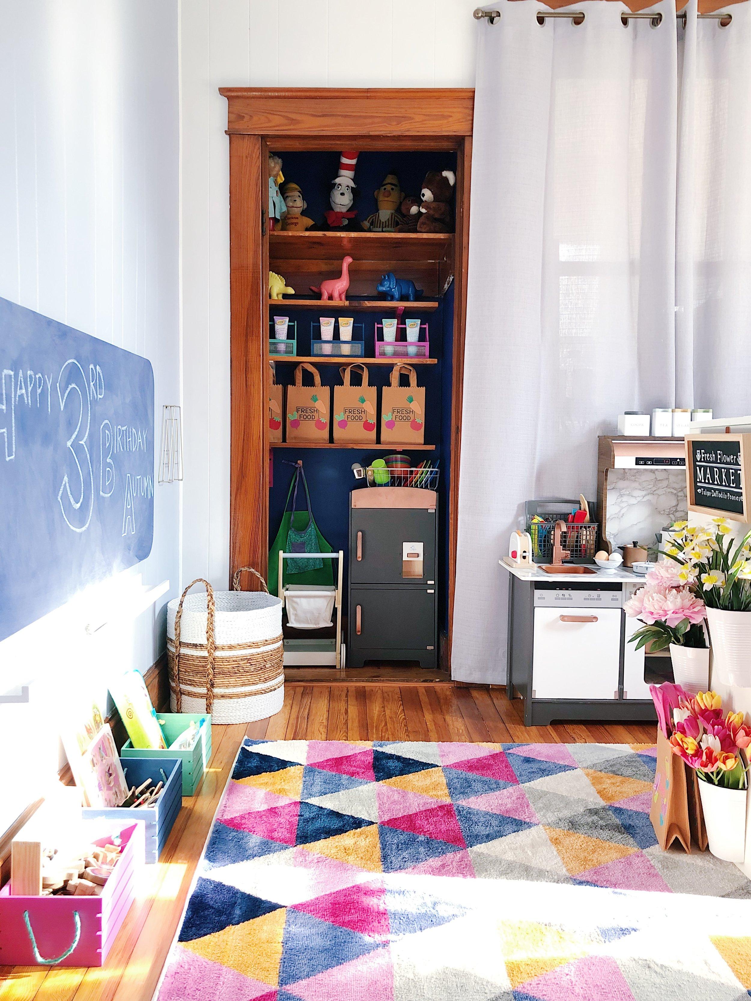 Modern Playroom Designed by Reidy Creative