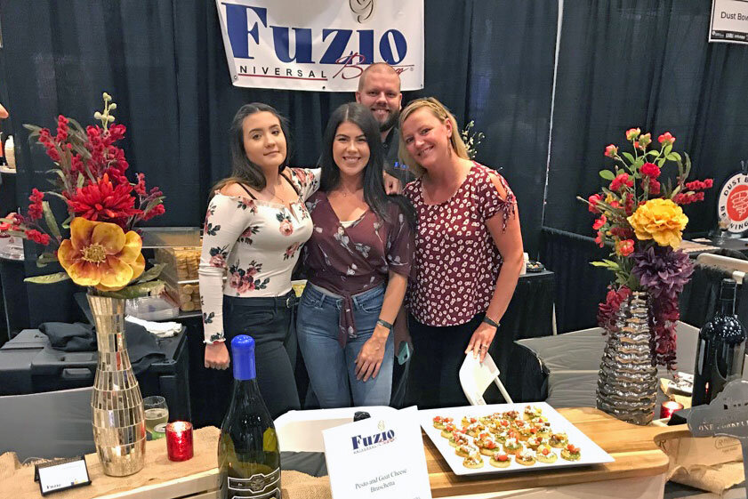 Fuzio at the Modesto Edible Extravaganza.