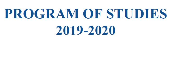 click image to download Program of studies booklet