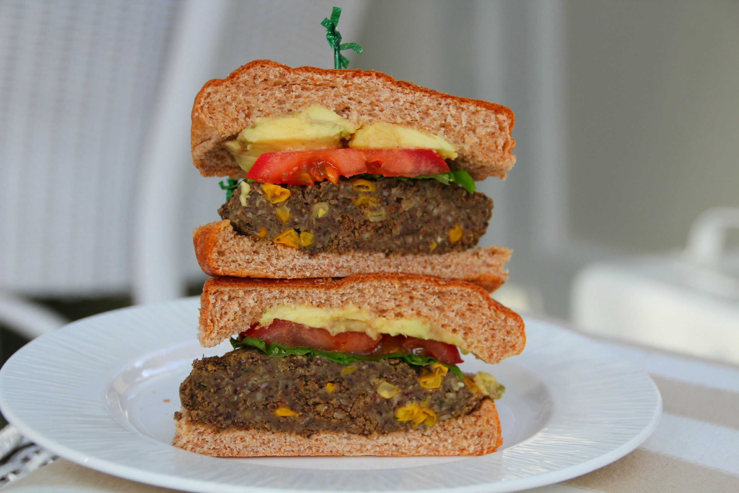 bean burger 2
