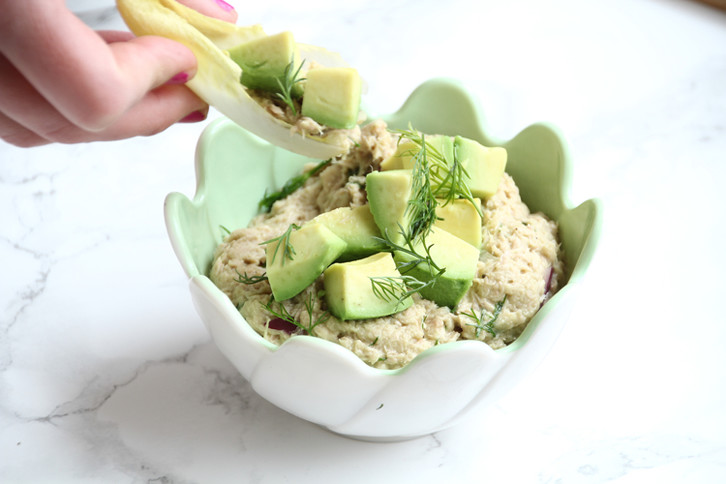 Tuna Salad With Endjve & Avocado - She Well