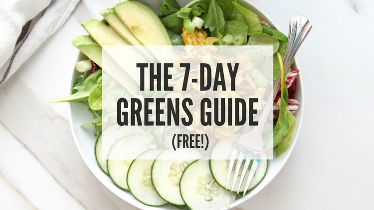 7-Day Greens Guide