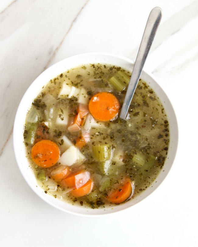 Skin Glow Veggie Soup