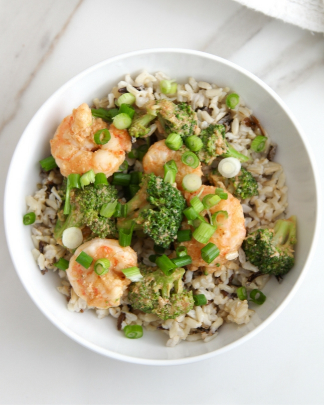 Bang Bang Shrimp Broccoli