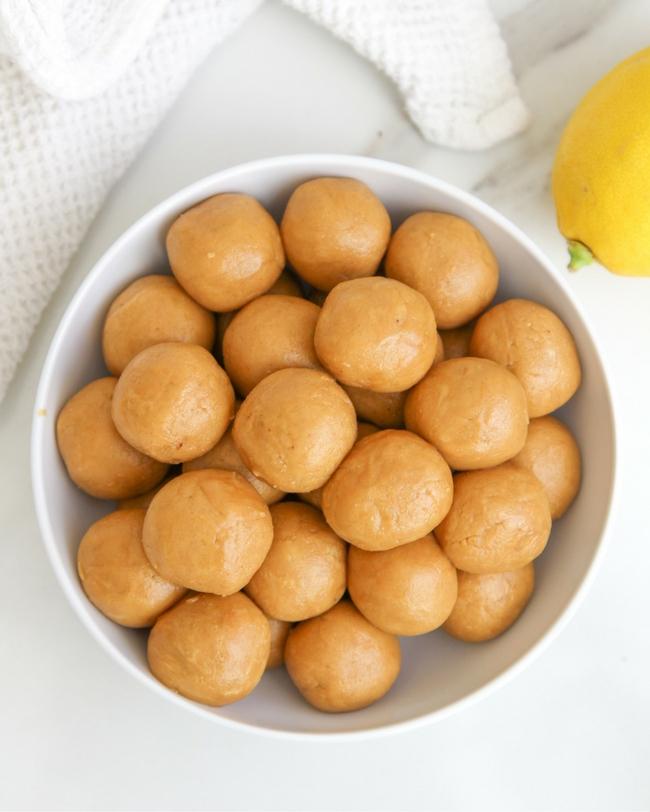 Lemon Ginger Protein Bites