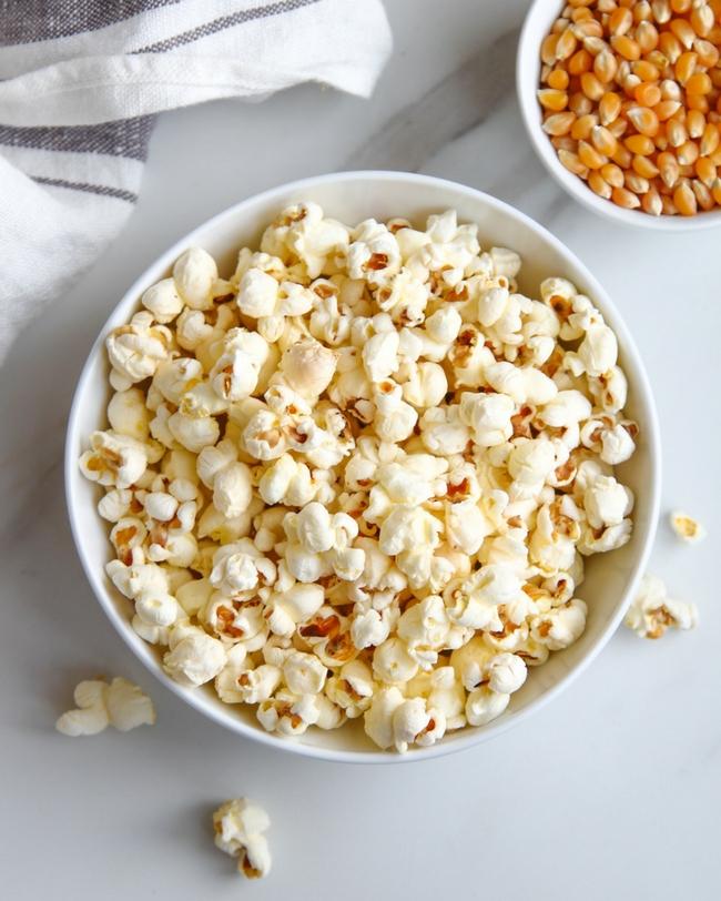 Salted Ghee Popcorn