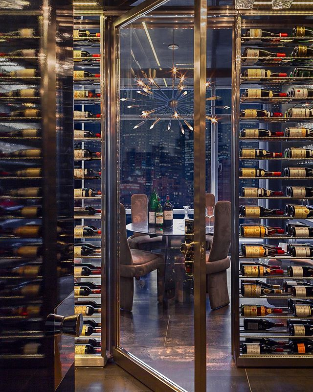 A  custom wine room fit for a sommelier. 🍷 Which wine is your favorite? . . Contractor: @aegreyson . . #aegreyson #wine #winetasting #winelover #architecture #generalcontractor #construction #residential #building #residentialconstruction #nyc #newyork #manhattan #luxurylifestyle #luxuryhomes #luxury